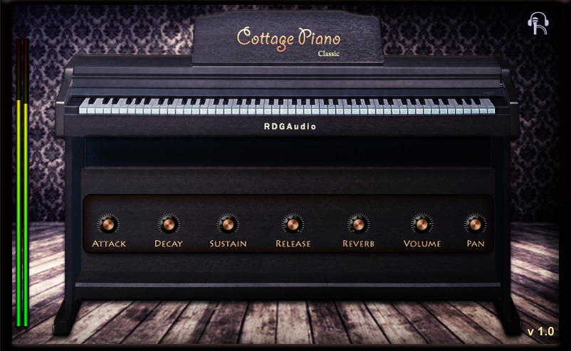 RDGAudio Products Cottage Piano Plugins