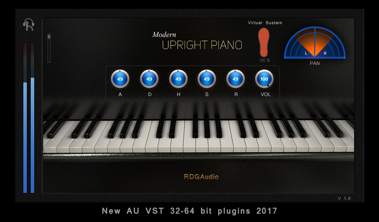 modern Upright Piano RDGAudio