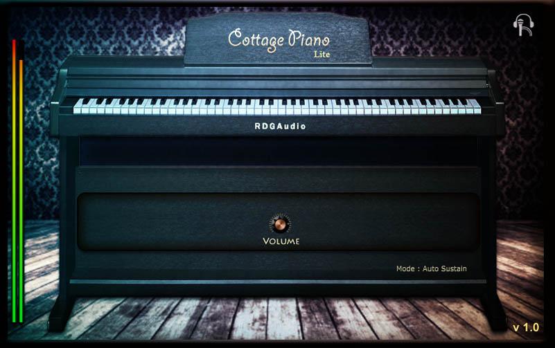 Cottage Piano Lite FREE Download RDGAudio VST AU plugins