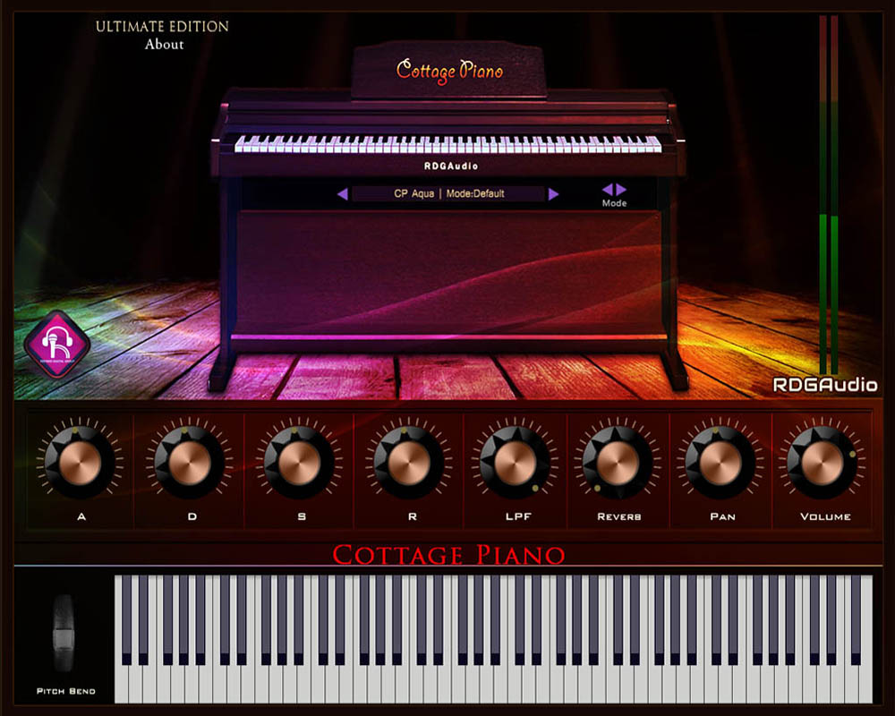 Cottage Piano Ultimate Player Only RDGAudio