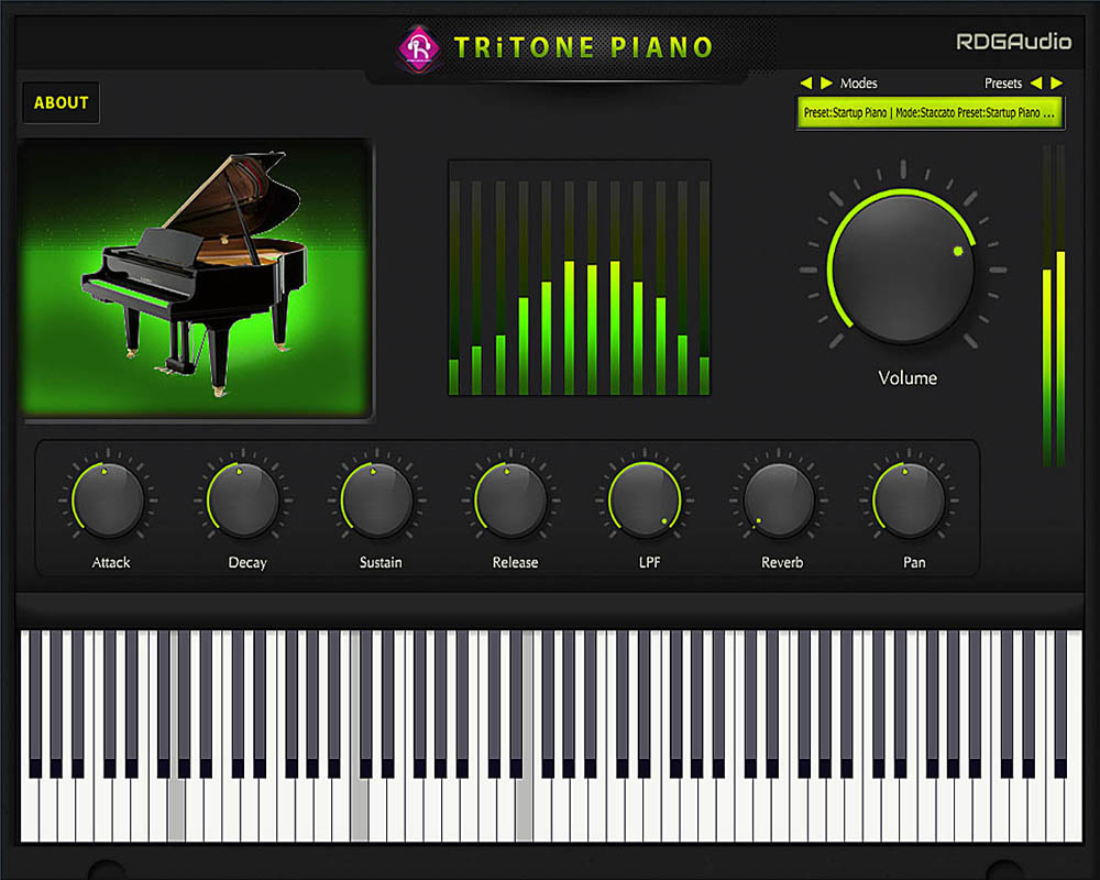 Tritone Piano Player Only RDGAudio