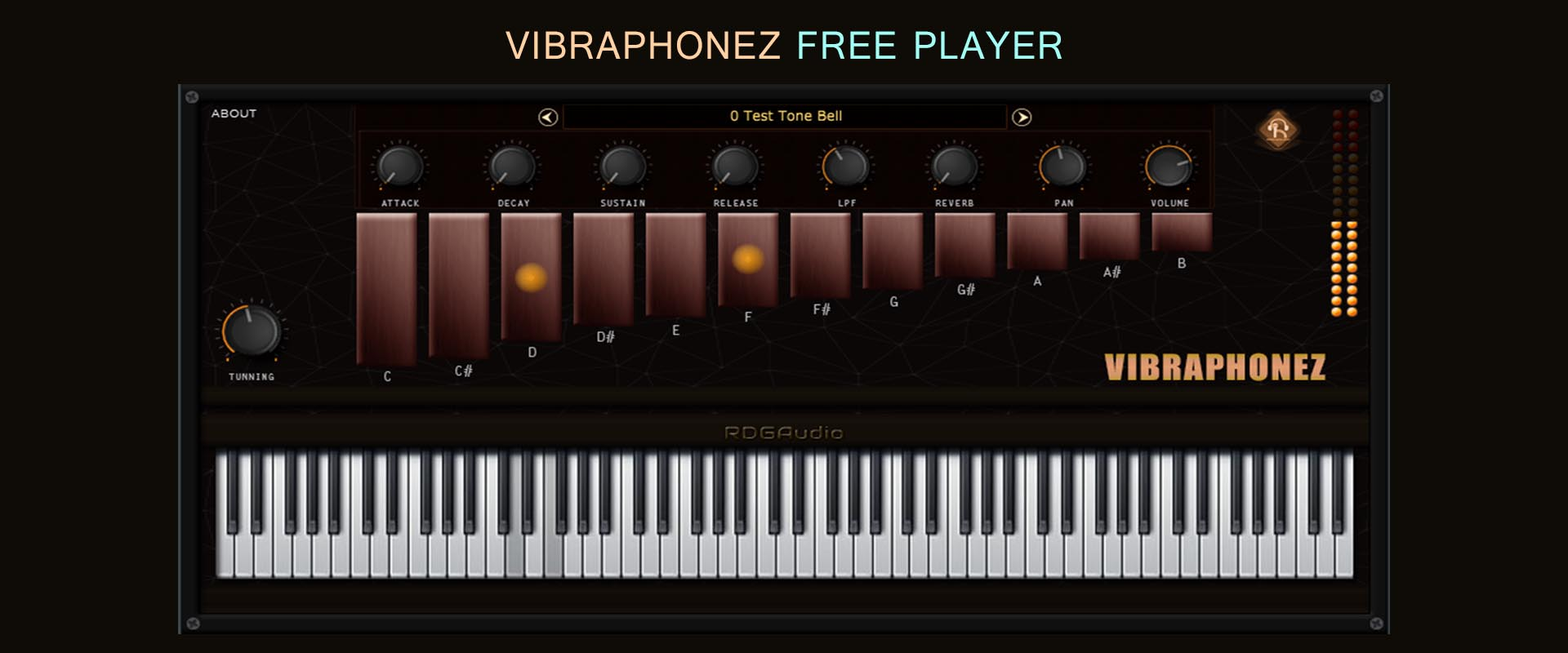 Vibraphonez Free Player for Slider