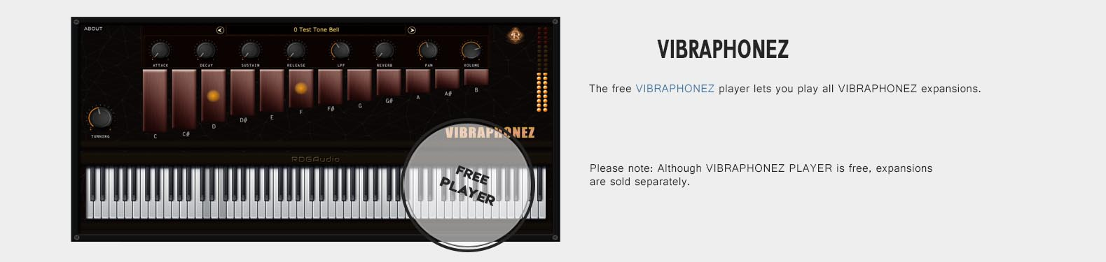 RDGAudio Vibraphonez Player