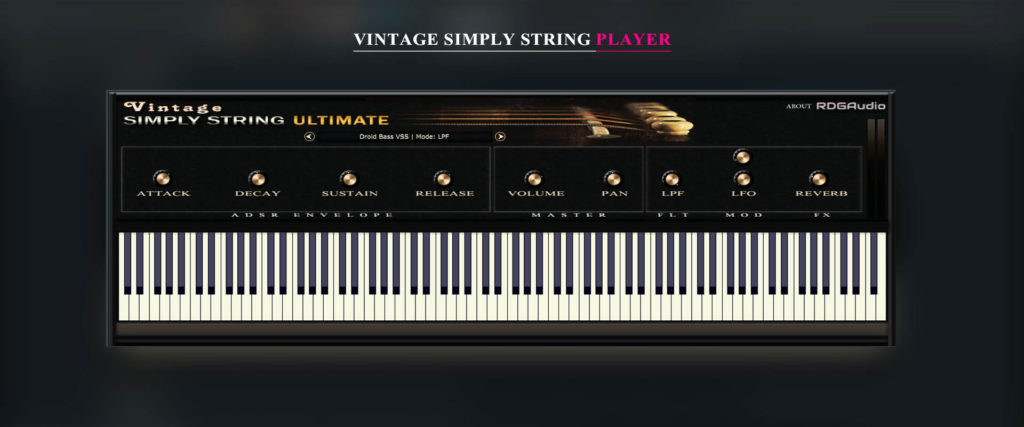 Vintage Simply String FREE Player
