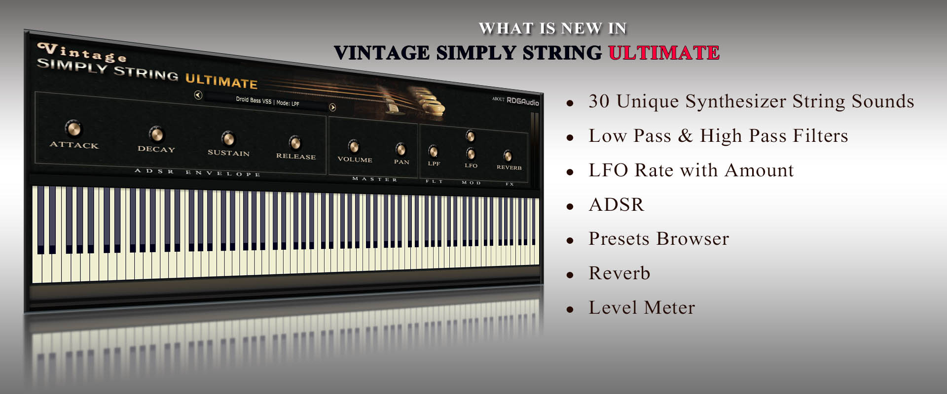 Vintage Simply String Ultimate Features