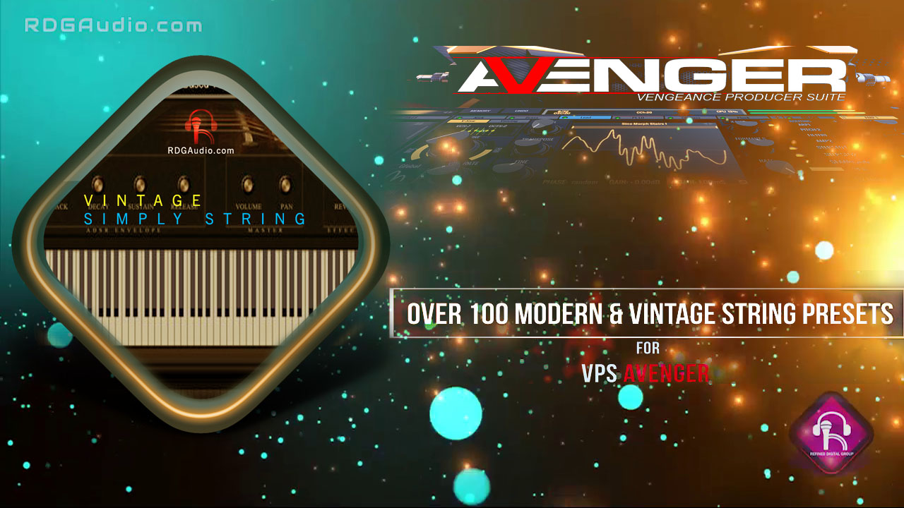 VSS for VPS Avenger String Expansion 100 Presets RDGAudio