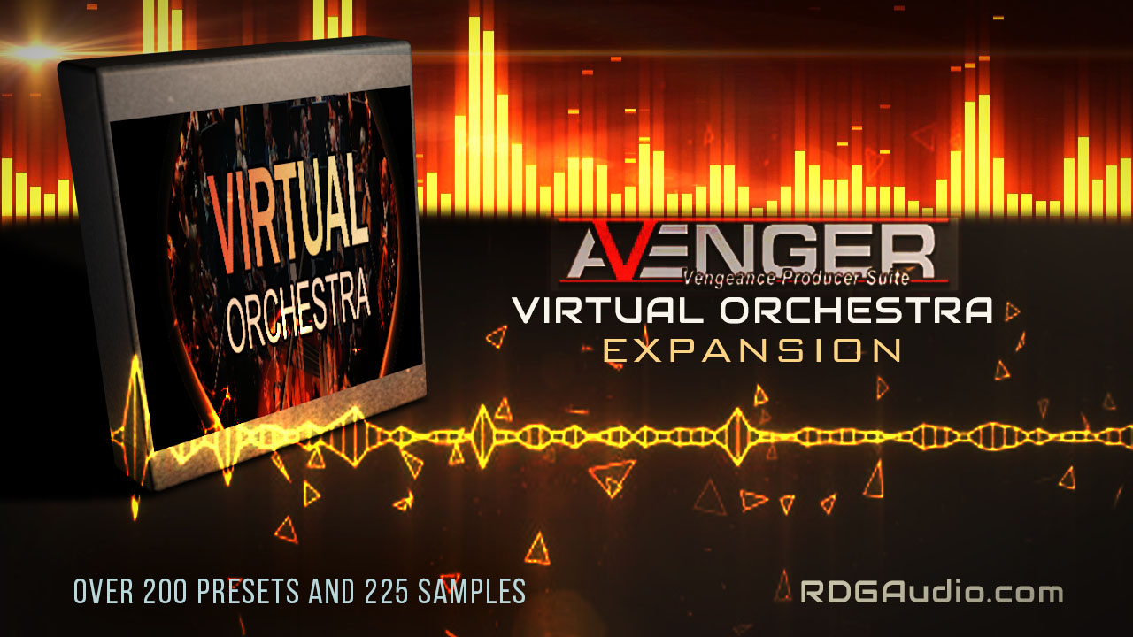 Virtual orchestra Avenger Expansion RDGAudio