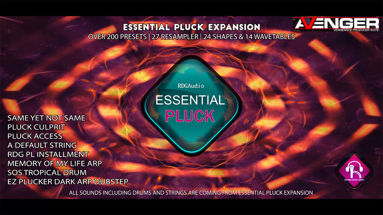 Essential Pluck VPS Avenger Expansion RDGAudio