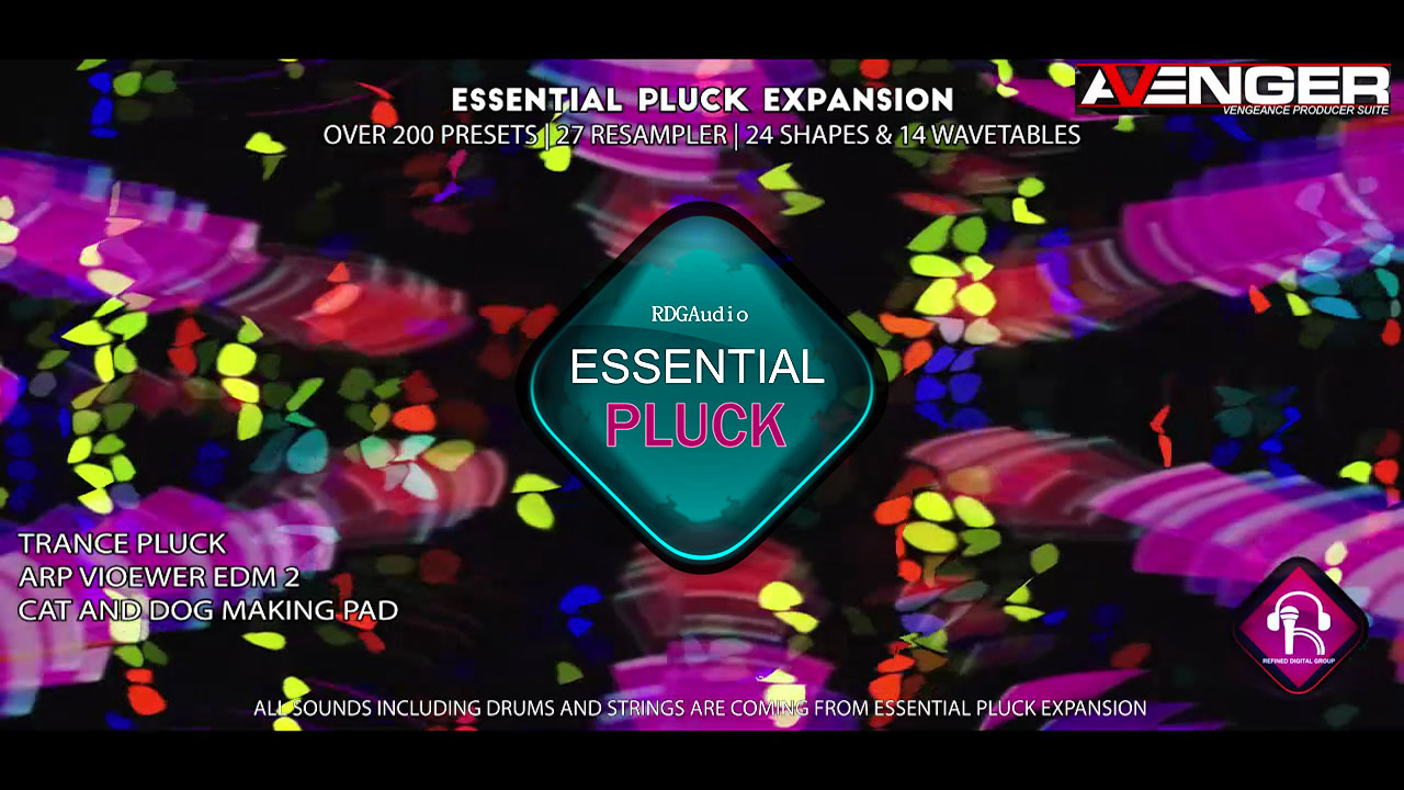 Essential Pluck RDGAudio VPS Avenger Expansion 2