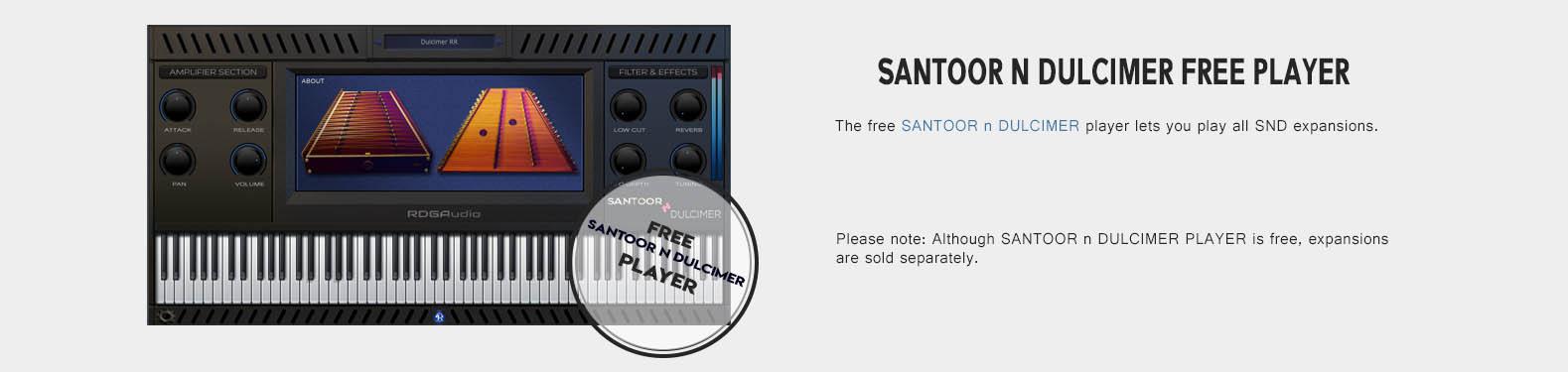 Santor n Dulcimer FREE Player RDGAudio