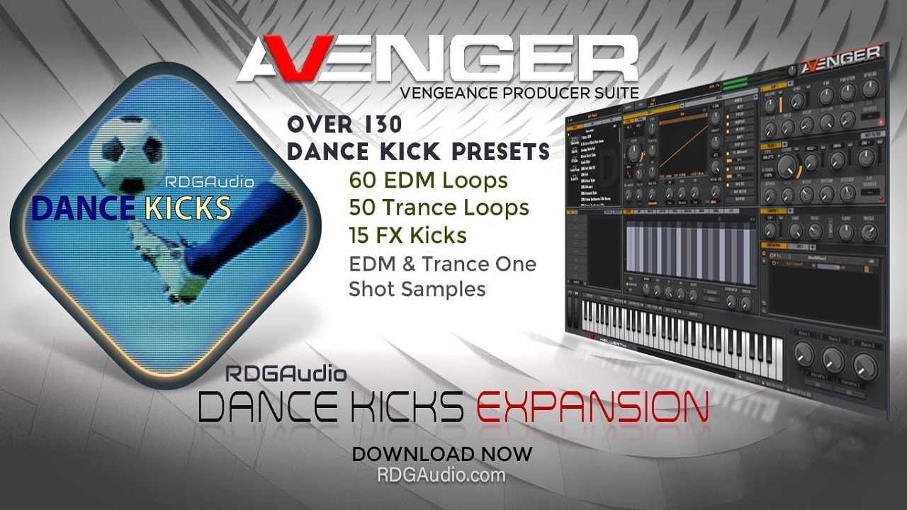 RDGAudio Dance kick VPS Avenger product
